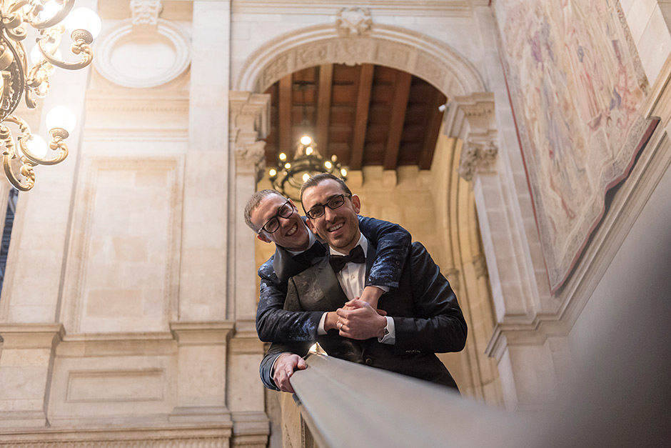 boda gay ayuntamiento barcelona , casament gay ajuntament de bar